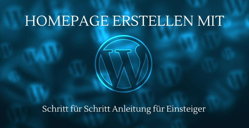Website erstellen mit WordPress