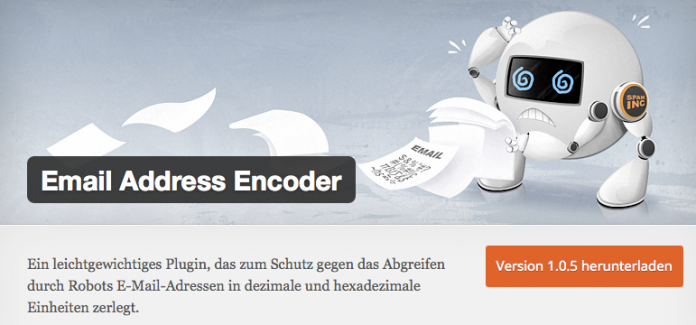 wordpress-sicherheit-email-encoder