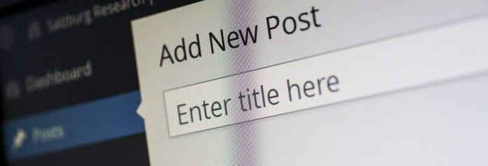 WordPress Backend Anleitung