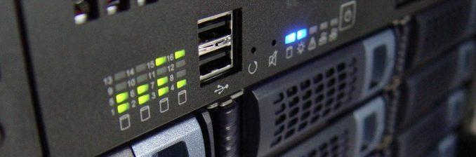 Der Webserver speichert das CMS WordPress und die Daten deiner Website