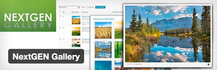 Die besten WordPress Plugins: Nextgen Gallery
